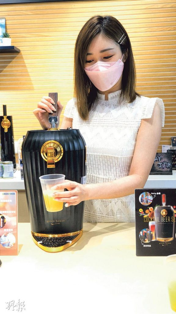 聖誕送禮丨家用啤酒機、cocktail調酒機 蝸居變身私人酒吧