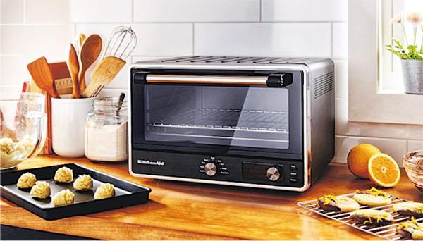 聖誕大餐必備丨輕量級坐枱式電焗爐 放到12吋Pizza、2隻小全雞 小家庭不二之選