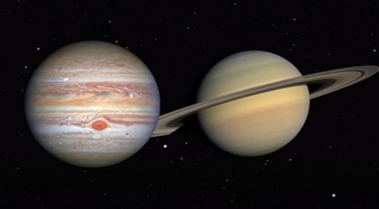 木星合土星12月21日黃昏可觀賞 近400年來最接近