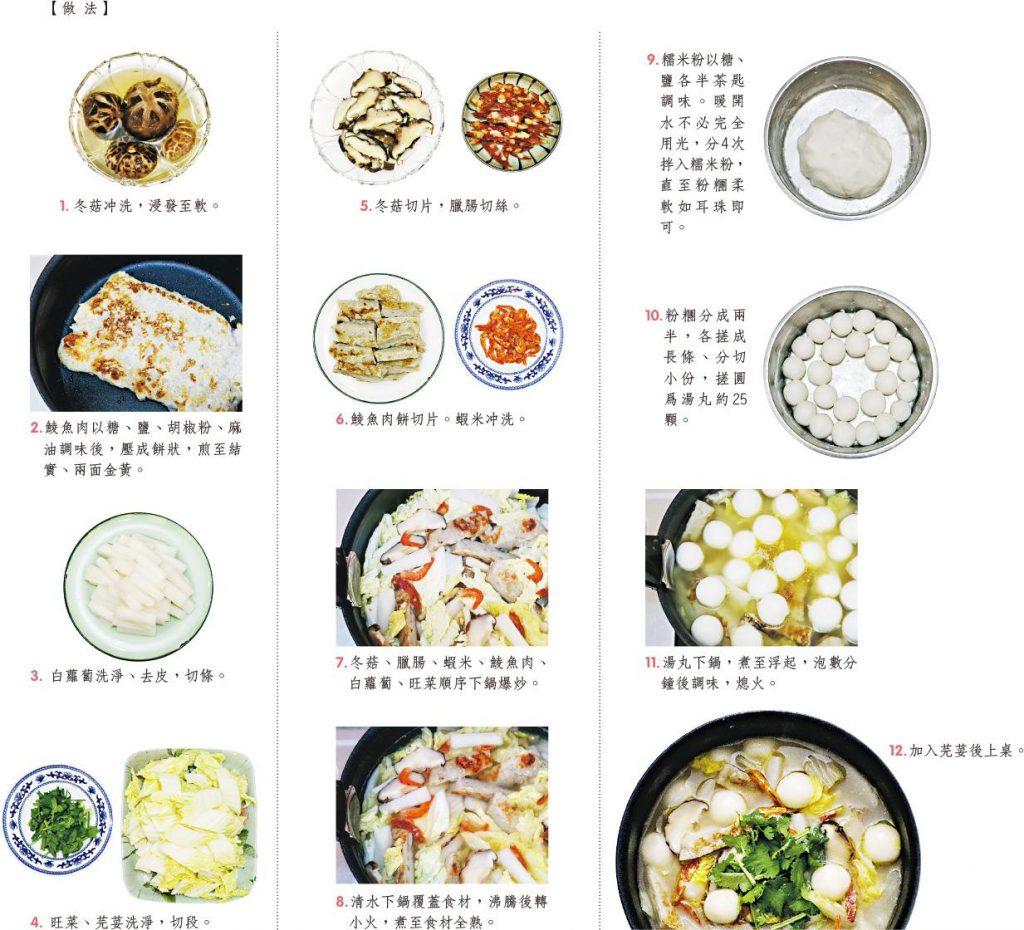 冬至美食 讀食時光:冬至家鄉菜 廣東鹹湯丸