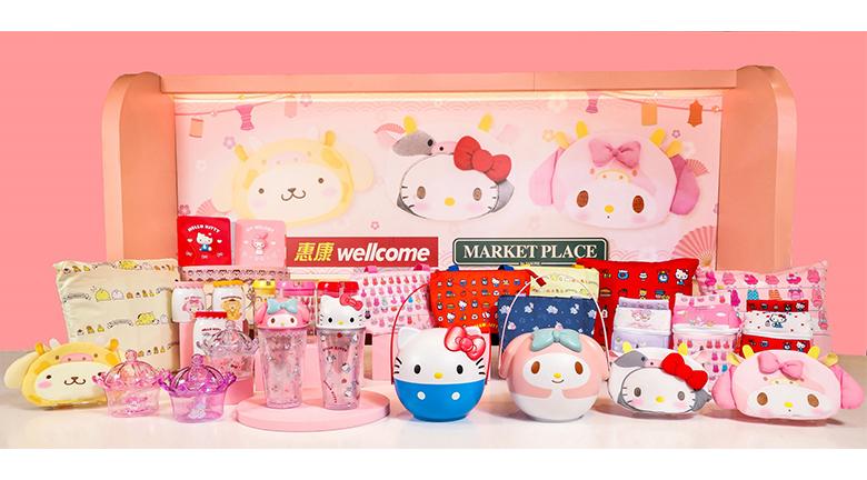 【2021農曆新年】惠康 Market Place by Jasons 獨家發售Sanrio賀年精品