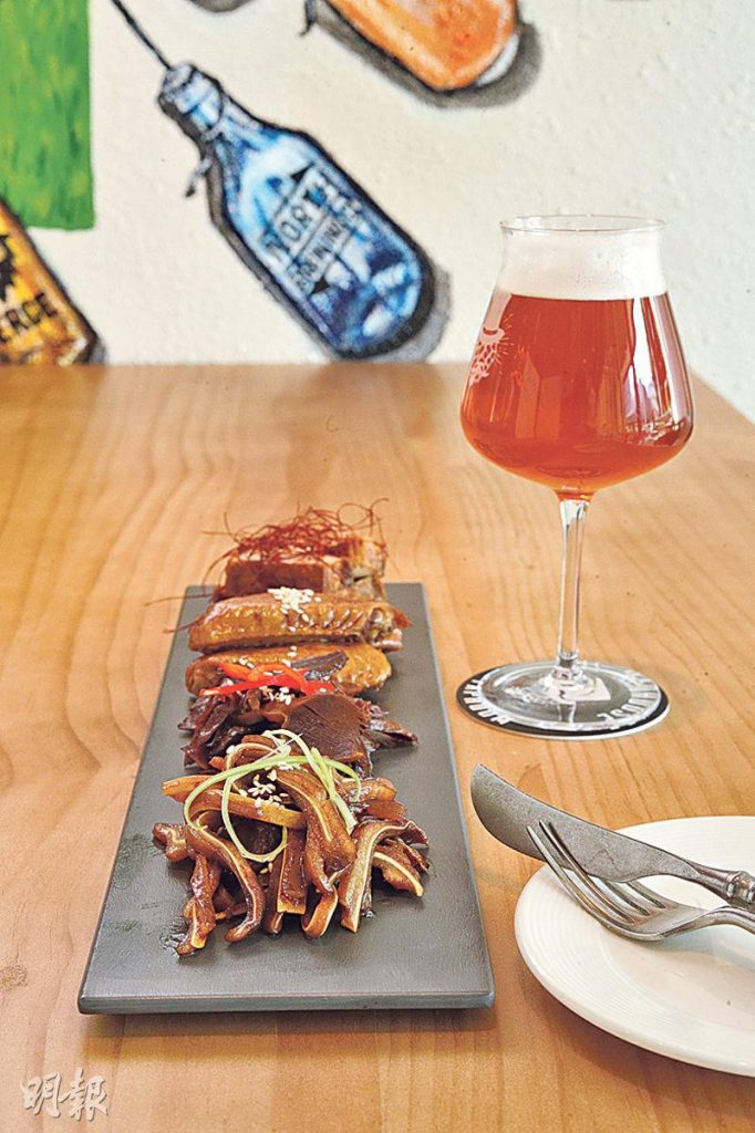 銅鑼灣新開手工啤酒專門店 逾20款手工啤 配搭餐廳級食物 必試「肥東波與脆窩夫」