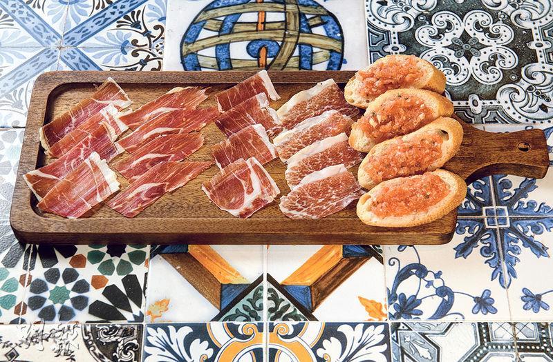 西班牙菜丨豪歎tapas 升級靚「腿」鹹香一點甜