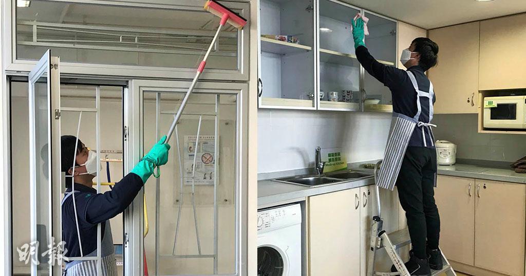 大掃除|兩大高危位:抹窗勿挨窗清潔 「擒高擒低」勿用摺櫈