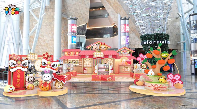 朗豪坊迪士尼春日園遊會 首披12生肖「瀛」春造型慶牛年