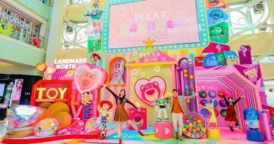 【2021農曆新年】Landmark North上水廣場 「反」轉紅粉甜蜜玩具世界