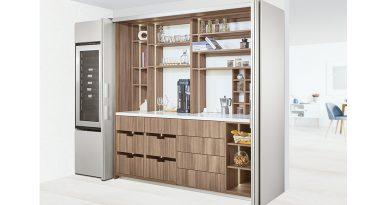 Mia Cucina全新廚房設計 拉摺式櫃門系統空間瞬間整潔井然
