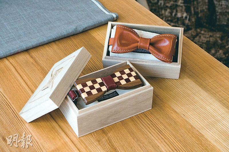 創意送禮丨度身訂造手作煲呔 玩味材質陶瓷、木材、水鑽布統統有