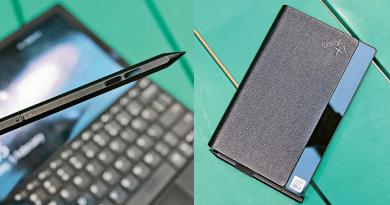 Lenovo推首部摺芒Notebook 一機三用慳位便攜