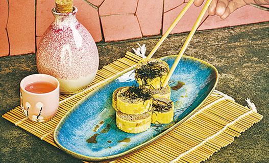細味「花見」櫻「滋」美饌 蕎麥麵壽司 創意十足