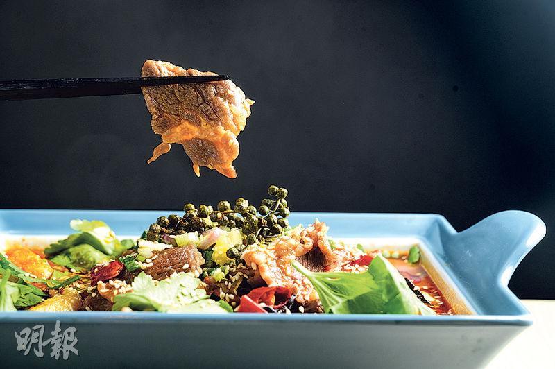 中環新開川菜餐廳「點.魚」 親民價足料午市套餐自選配菜加麻辣點心 過足口癮