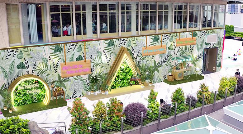 荃灣廣場聯乘Greenology<br>打造「共享綠藝空中花園」