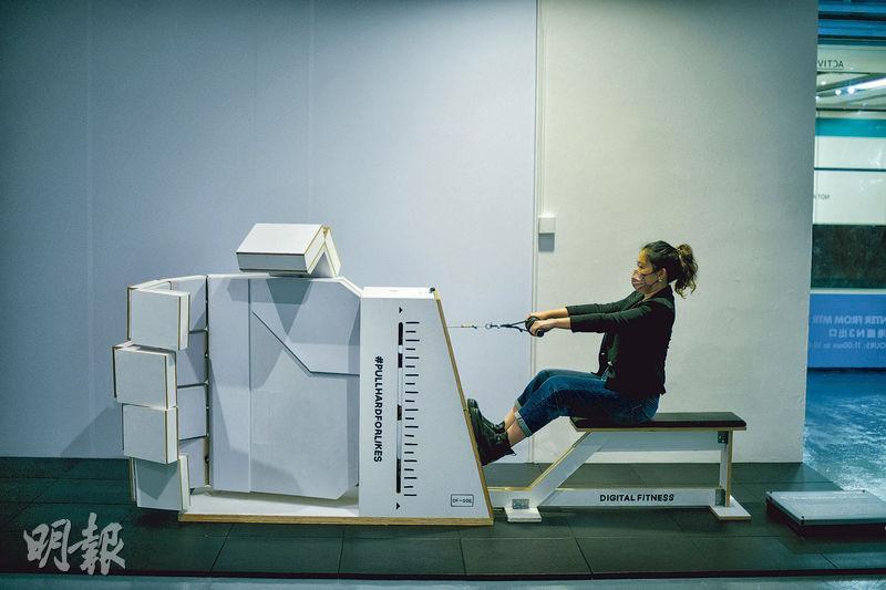 期間限定!K11設藝術互動體驗店 鍛煉Digital Muscles 健身操fit手指練眼力