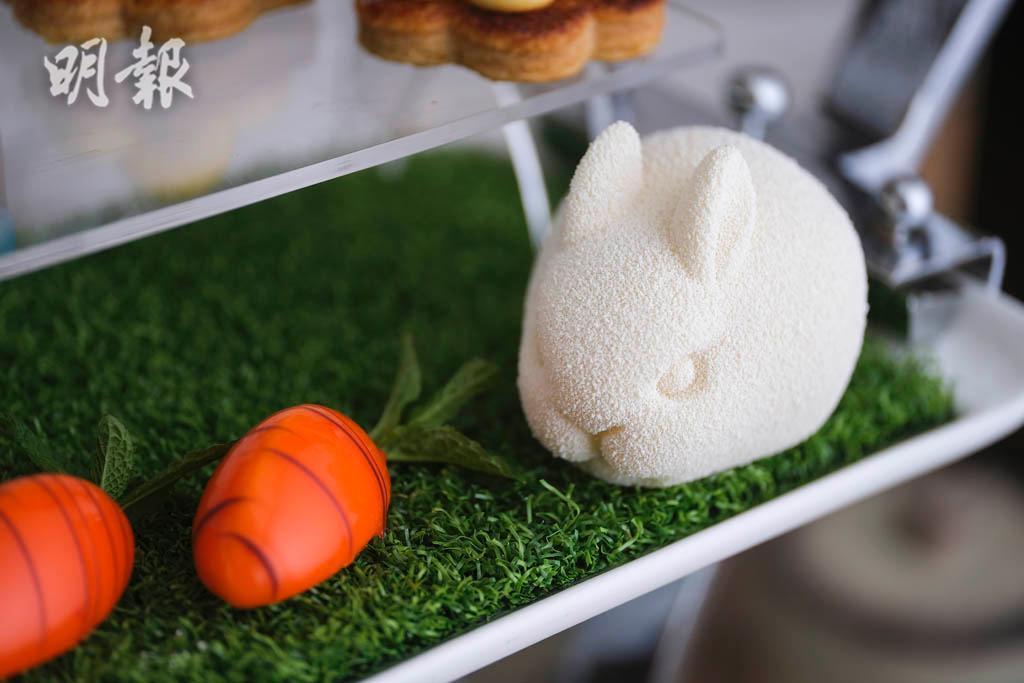 復活節2021|唯港薈 X Lindt朱古力下午茶 朱古力蛋 白兔布丁 迷你胡蘿蔔伴你過復活節