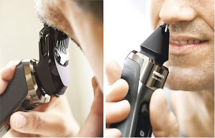 智能鬚刨 360°剃鬚零死角 加入肌感調控功能減過敏