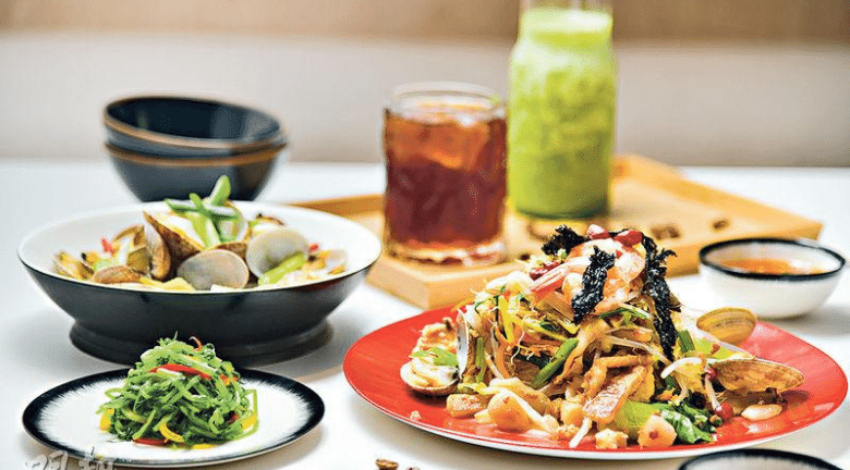 IFC新開文青中餐廳「4口」 主打福建家常菜加手沖咖啡