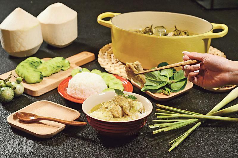 Son級廚房|聰明醃肉 下椰漿不加水 青咖喱雞入味竅門「泰」簡單