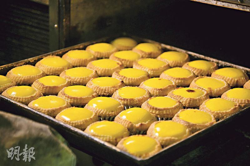 茶餐廳人氣出品 128層酥皮蛋撻做足逾20年 蛋漿飽滿出爐日賣700個