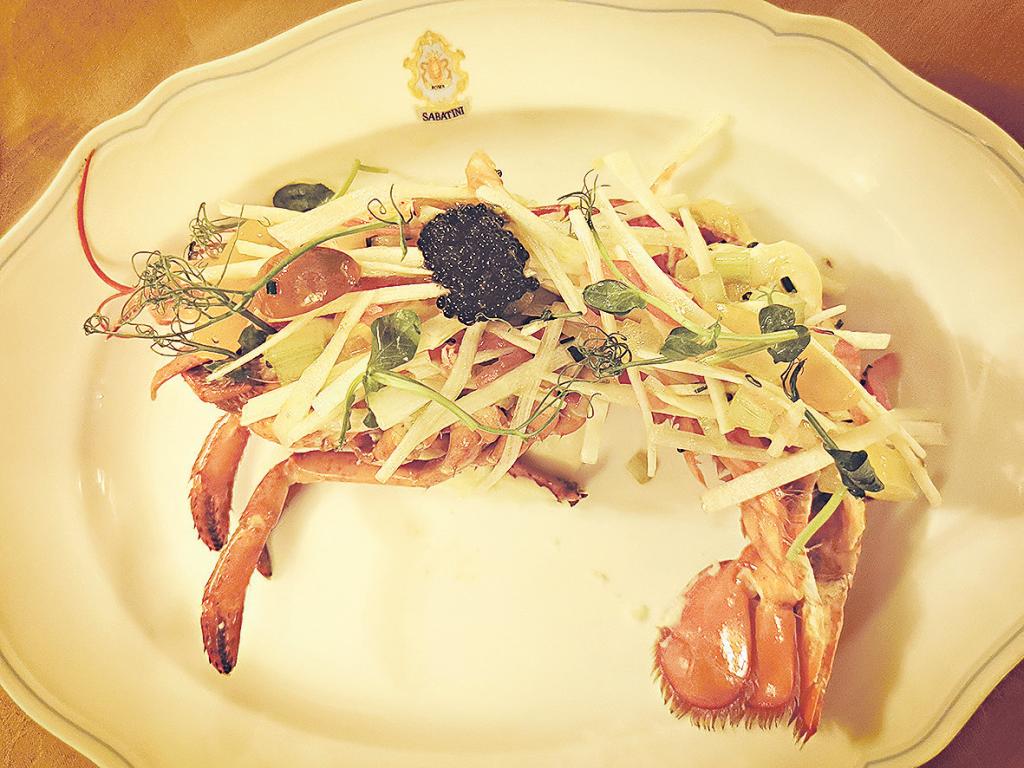 意大利餐廳Sabatini Ristorante X 麥華章 春末初夏入饌餐桌上「雙白」 為你鍾情