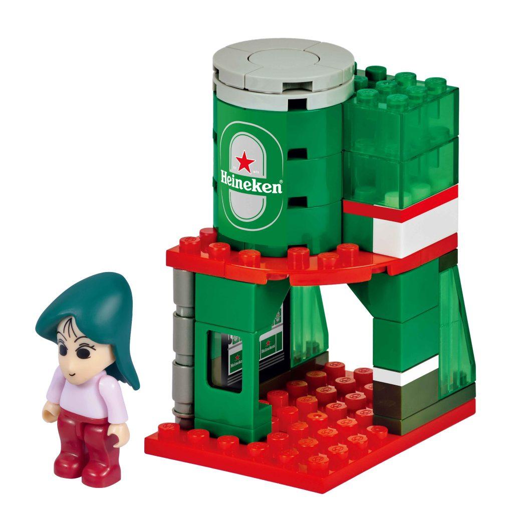 7-Eleven x 蠟筆小新|粉絲必儲!10款積木小店舖及小市集收藏組合 與鬼馬小新打造出屬於自己小市集