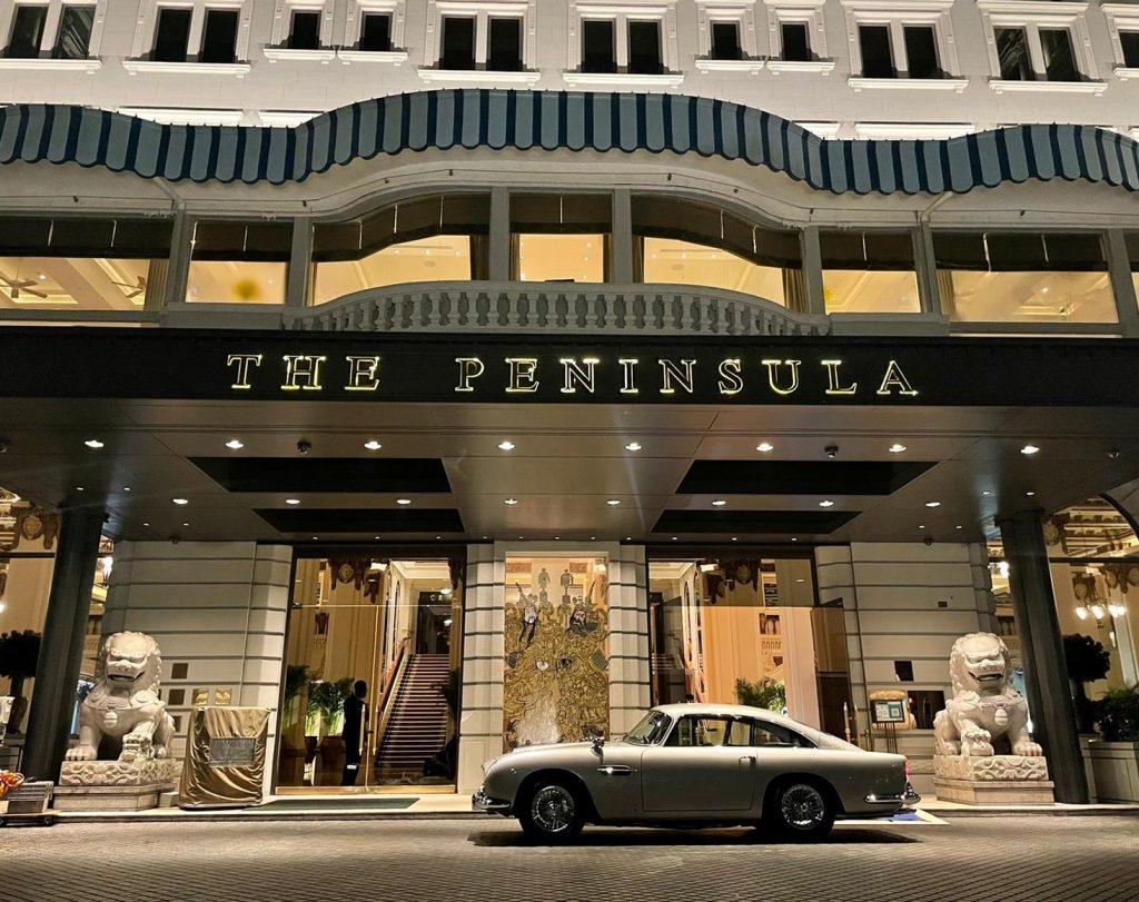 香港半島酒店 X 香港Aston Martin 舉辦慈善活動