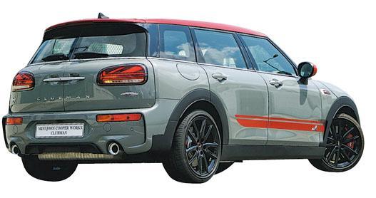 小型旅行車型格之選 JCW Clubman306匹馬力 高性能抓地表現好