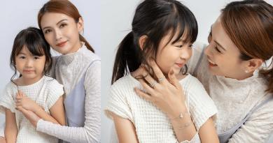 Wow Fashion Jewellery 陳樂榣母女檔聯手演繹「520我愛您」首飾 最強「斜槓媽媽」與萌爆愛女 以照片框住真摰愛意