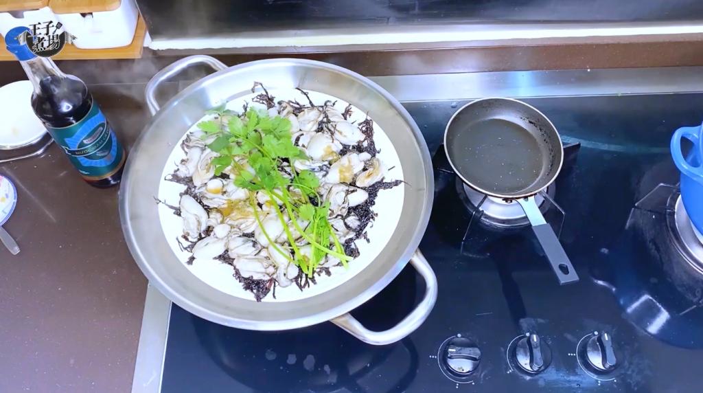 【王子煮場】潮州紫菜蒸蠔 3分鐘有得食 識食一定配靚魚露