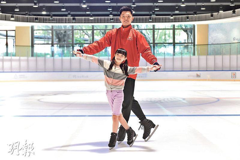 室內遊玩好去處 全新溜冰場 前港隊授課