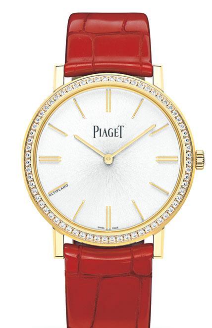 Piaget 腕表 鏤空機芯 高級珠寶表 手表