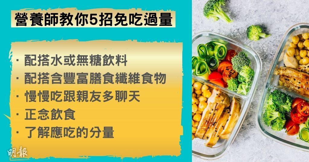 減肥 食量 體重管理 卡路里 營養師 高鈣