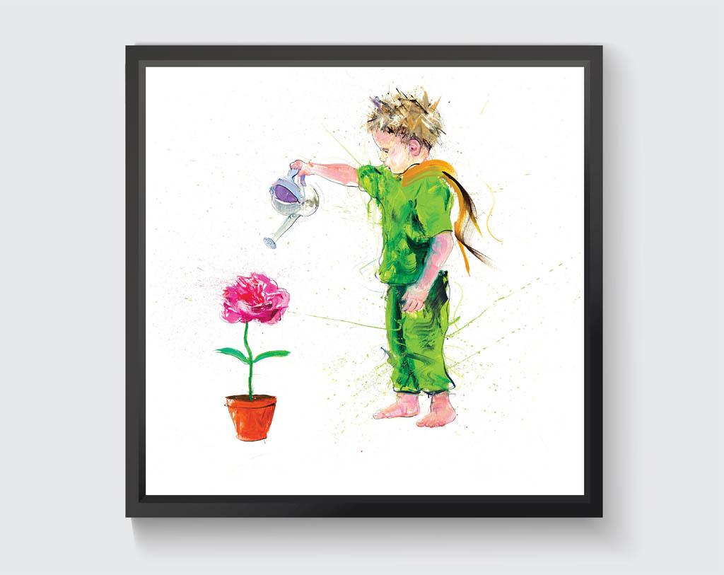 小王子日 世界小王子日 小王子75周年 Signal sticker Le Petit Prince 6.29小王子日