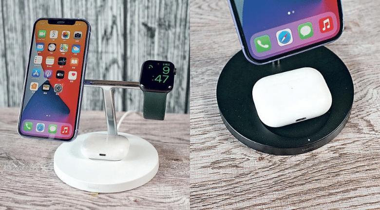 【父親節禮物之選】MagSafe 3合1無線充電器 用盡15W充電快1倍