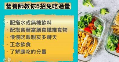 減肥必知!5招秘技增飽腹感 控制食量 餐後刷牙有無用?