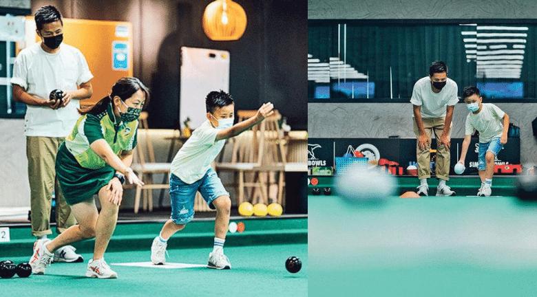 美孚Simply Bowls 草地滾球、餐廳、健身室大集合 親子chill住玩