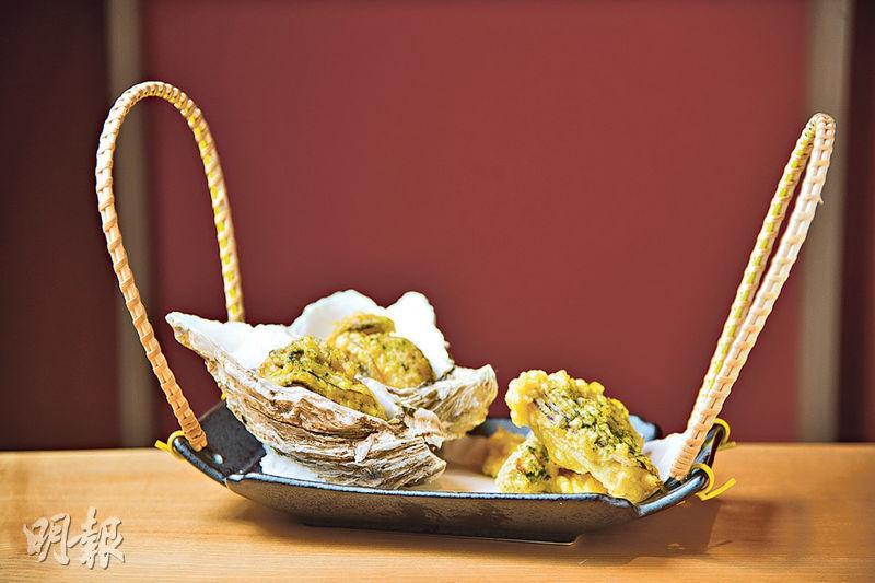 SOBA HOUSE 米芝蓮 拉麵店 鮮蠔湯底拉麵 牡蠣 日本 蠔 金色不如帰 牡蠣不如帰 牡蠣鹽味拉麵 蠔油 天麩羅 蠣泡茶漬飯