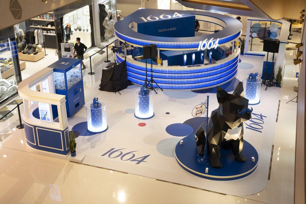 1664期間限定店「Taste of Bleu」來臨K11 Art Mall 人氣男神Jeffrey魏浚笙擔任一日店長!