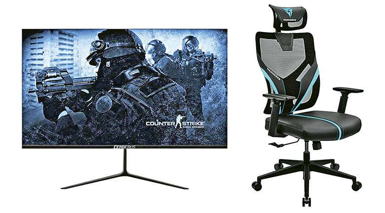 升級電玩裝備 OSIM 電競天王椅勁減3千