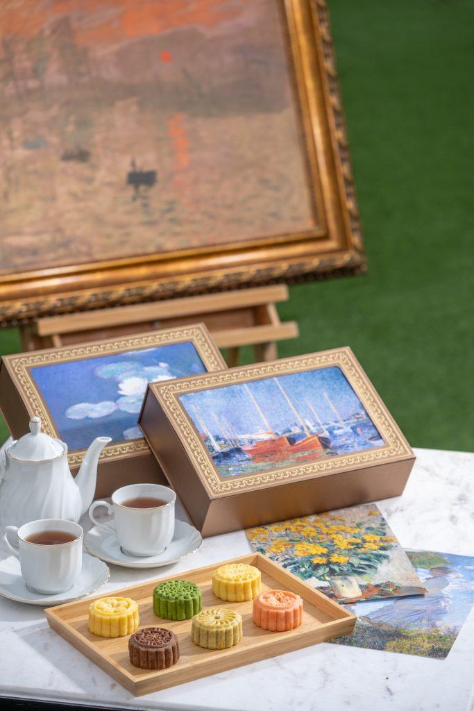 今年最具藝術收藏價值月餅飾盒隆重登場 MONET Collection 精心研製