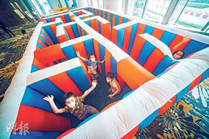 【暑假staycation】包住包玩 巨型迷宮、射箭、手作工作坊放題 最啱貪玩小朋友