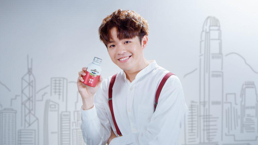 MIRROR廣告 Ian 陳卓賢 黑白淡奶