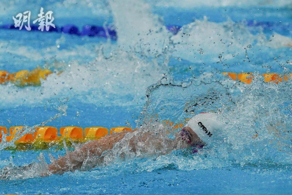 何詩蓓 飛魚 東京奧運 奧運2021 泳手 菲比斯