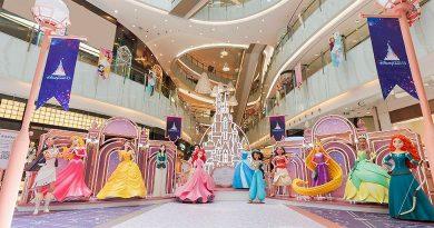 新世紀廣場「迪士尼公主巡禮」<br>5米高「奇妙夢想城堡」炫亮登場