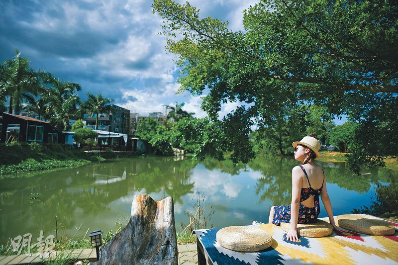 上水 何時.河地 河上鄉 豆腐花 塱原濕地 露天茶座 河上鄉美味棧 餐蛋麵