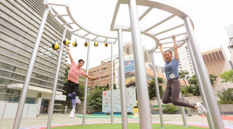 樂富廣場「SPORTIVAL運動嘉年華」<br>VR跳傘體驗飛越香港鬧市