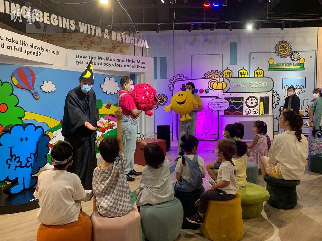 時代廣場 x Mr. Men Little Miss 50周年展 劇場表演、工作坊輪流上演