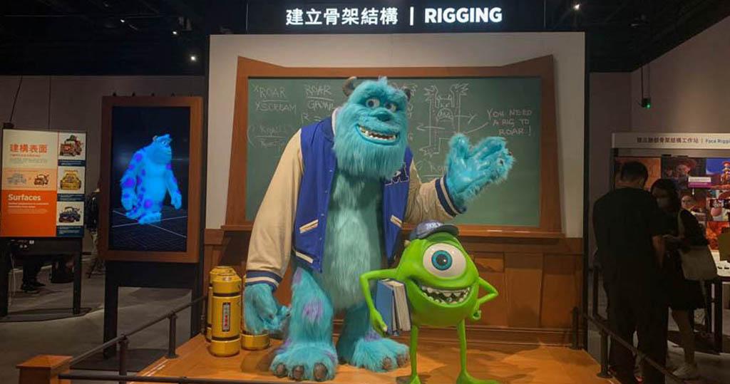 香港科學館明日(30日)至12月1日舉辦「彼思動畫的科學秘密」展覽。(何采思攝)