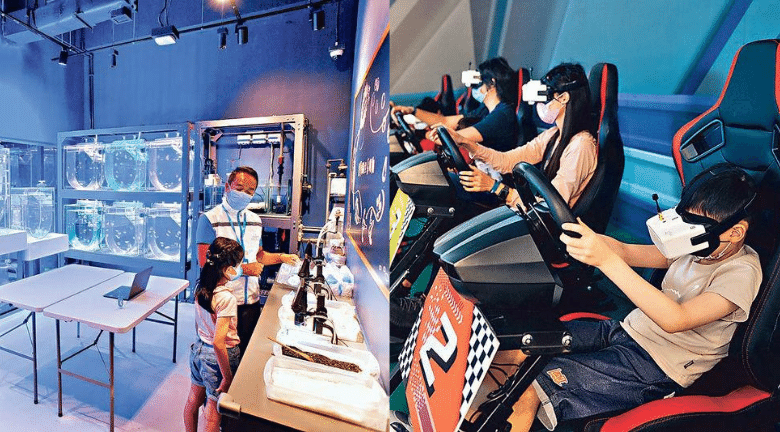 盤點3個親子室內遊樂場 走進水母萬花筒、化身賽車手、坐上探索號展開冒險