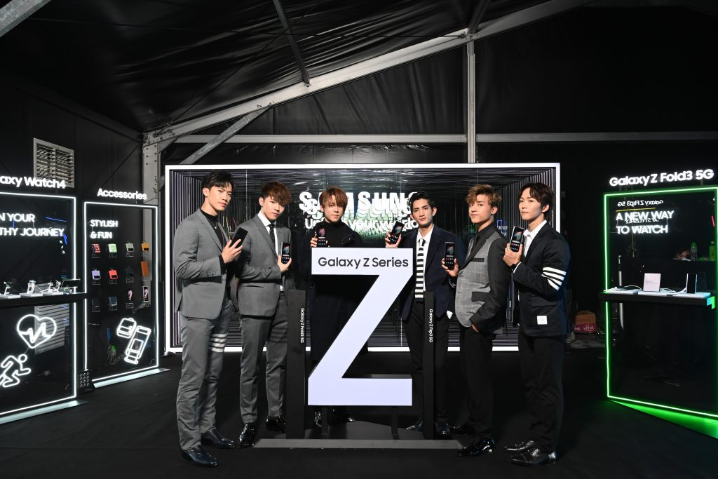Mirror x Samsung Galaxy Z Fold3 / Flip3 多圖!鏡粉狂搶!掀起摺疊屏幕手機新世代 劃時代矚目焦點