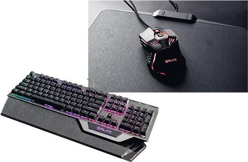 抵玩電競周邊 GALAX青軸機械鍵盤加電競滑鼠 700蚊都唔駛 耐用唔易爛